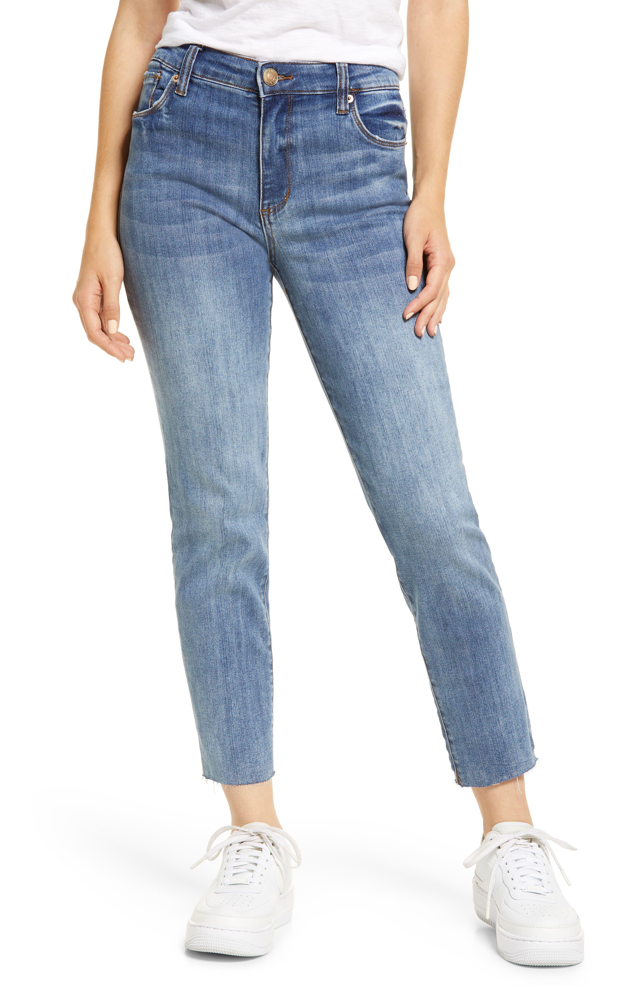 Caroline High Waist Straight Leg Jeans