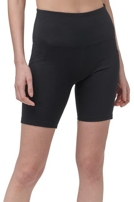 Image of MARC NEW YORK PERFORMANCE High-Waisted Biker Shorts