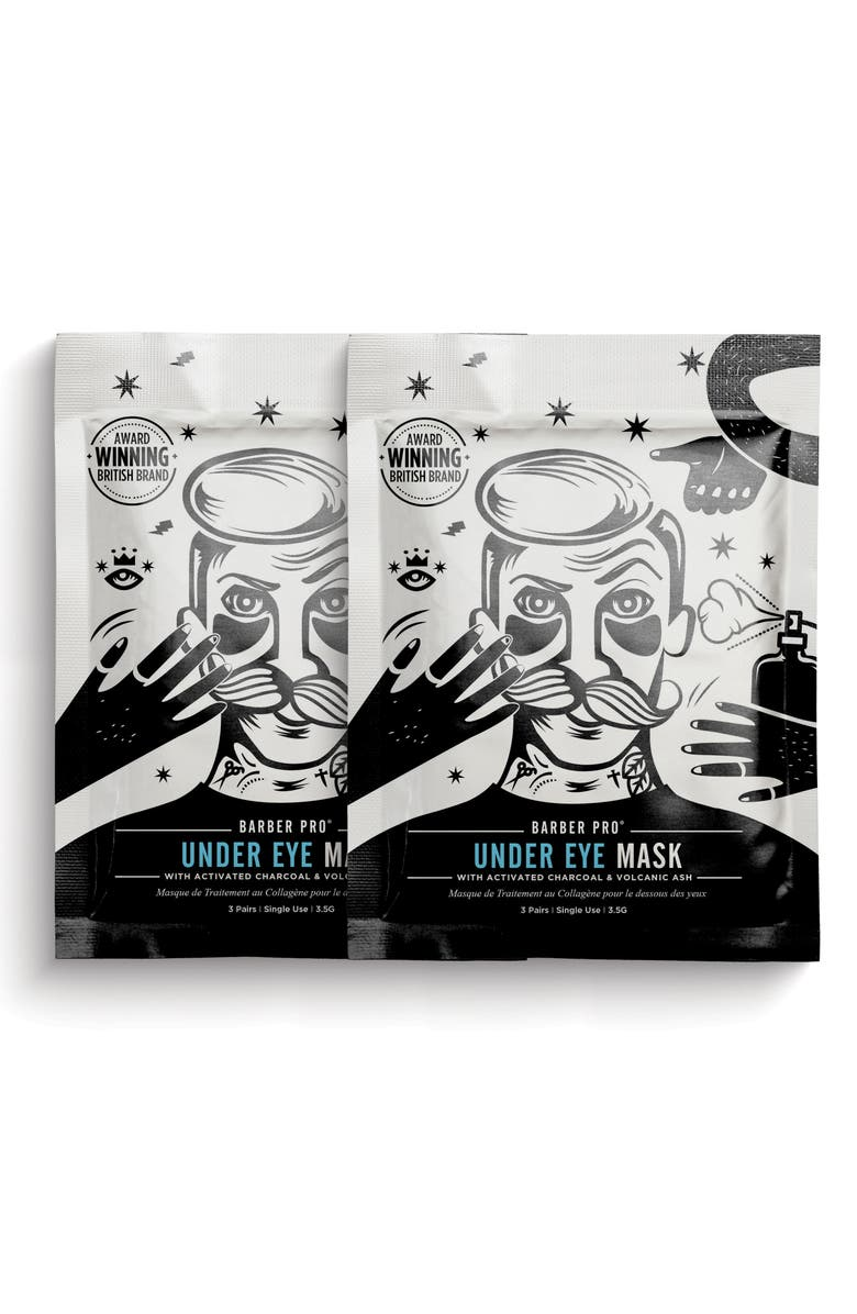 BARBER PRO Undereye Mask Duo, Main, color, 000