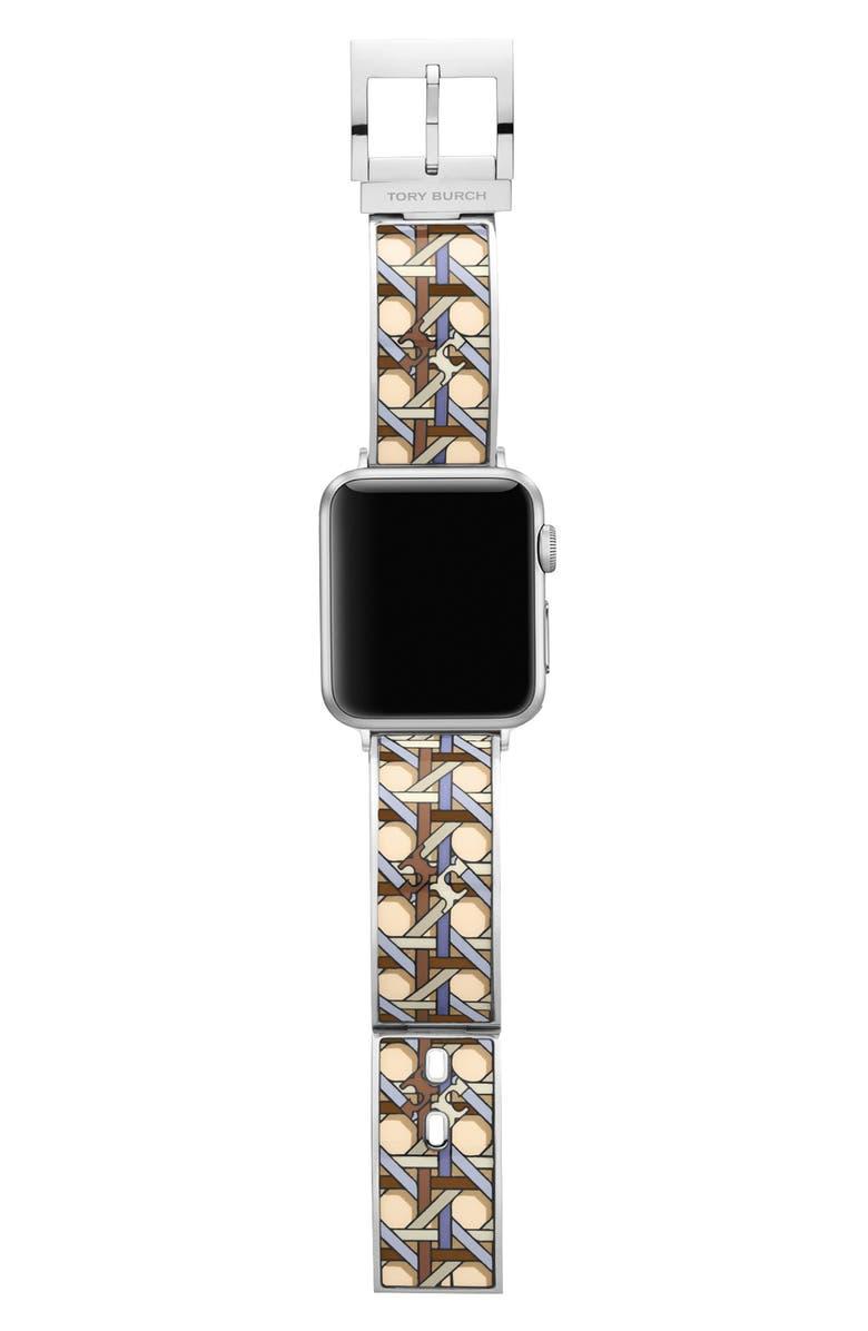 토리버치 Tory Burch The Buddy Bangle Band for Apple Watch, 38mmu002F40mm,multi