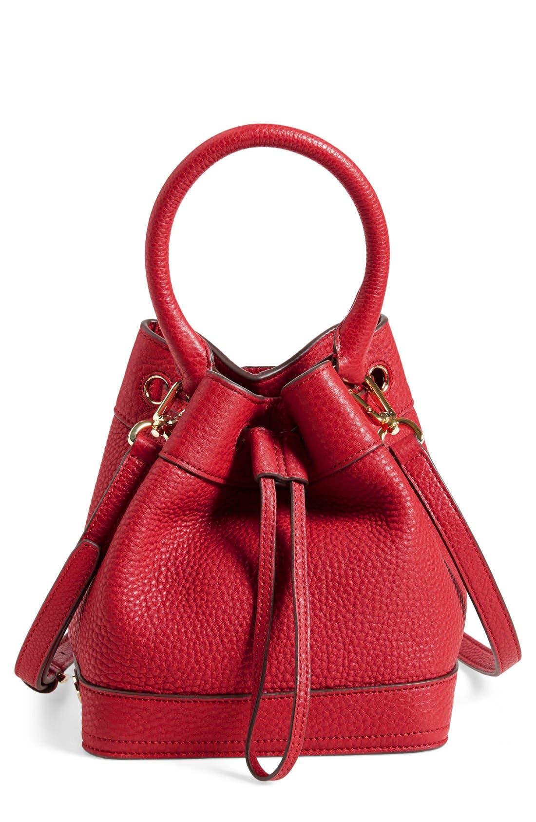,                             'Robinson' Pebbled Mini Bucket Bag,                             Main thumbnail 3, color,                             600