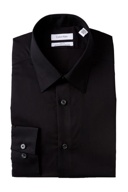 Image of Calvin Klein Slim Fit Oxford Dress Shirt
