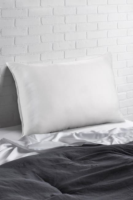 """Image of Ella Jayne Soft Luxurious White Goose Down Certified RDS Stomach Sleeper Standard Pillow - 23""""x16"""""""