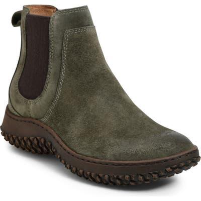 Sofft Abry Waterproof Chelsea Boot- Green