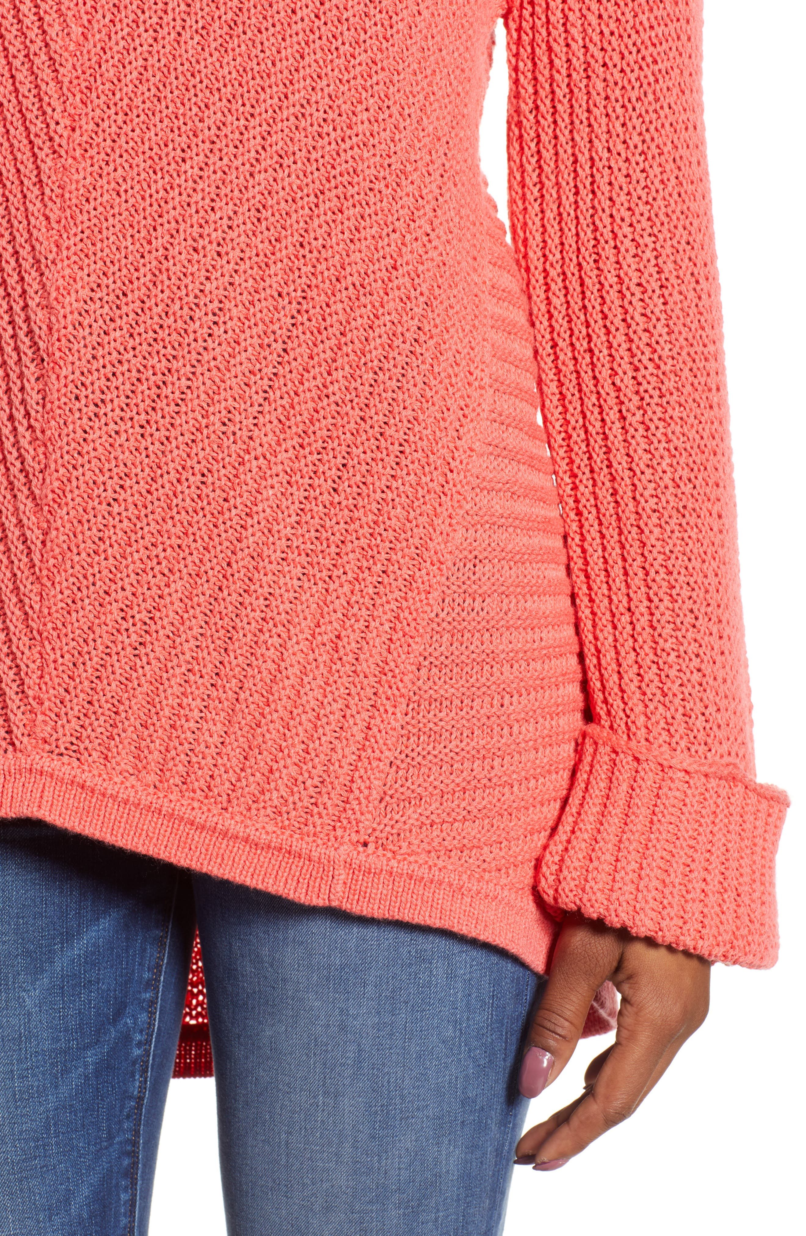 ,                             Cuffed Sleeve Sweater,                             Alternate thumbnail 52, color,                             958
