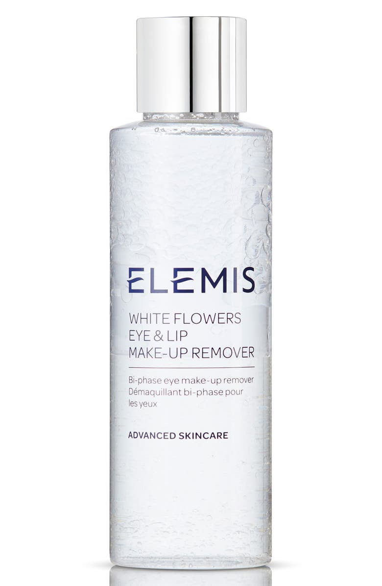 ELEMIS White Flowers Eye & Lip Makeup Remover, Main, color, NO COLOR