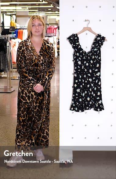 Like a Lady Print Minidress, sales video thumbnail