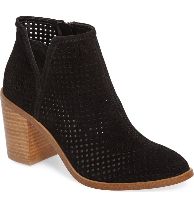 1.STATE 1. STATE Larocka Perforated Bootie, Main, color, 001