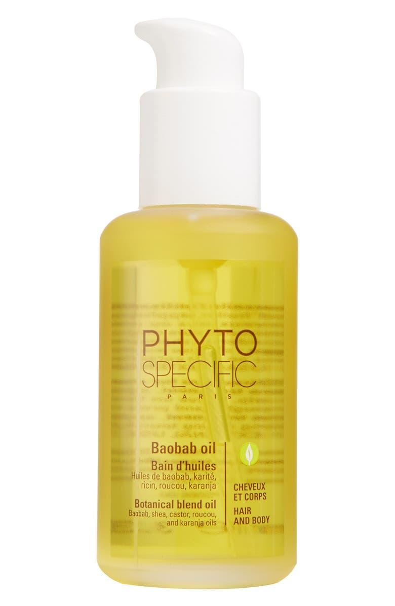 PHYTO PhytoSpecific Baobab Oil, Main, color, NO COLOR