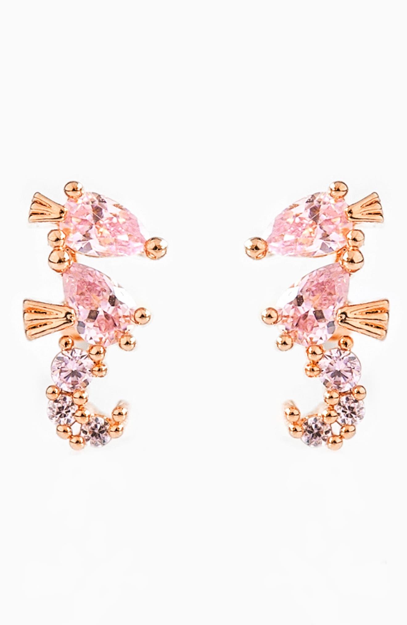Seahorse Stud Earrings