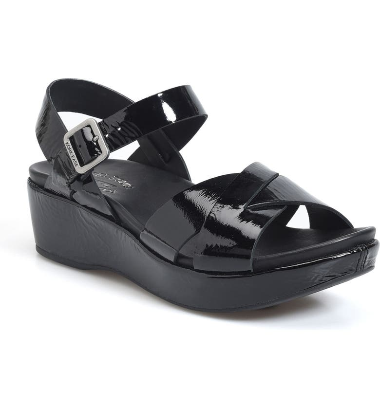 KORK-EASE<SUP>®</SUP> 'Myrna 2.0' Cork Wedge Sandal, Main, color, 002