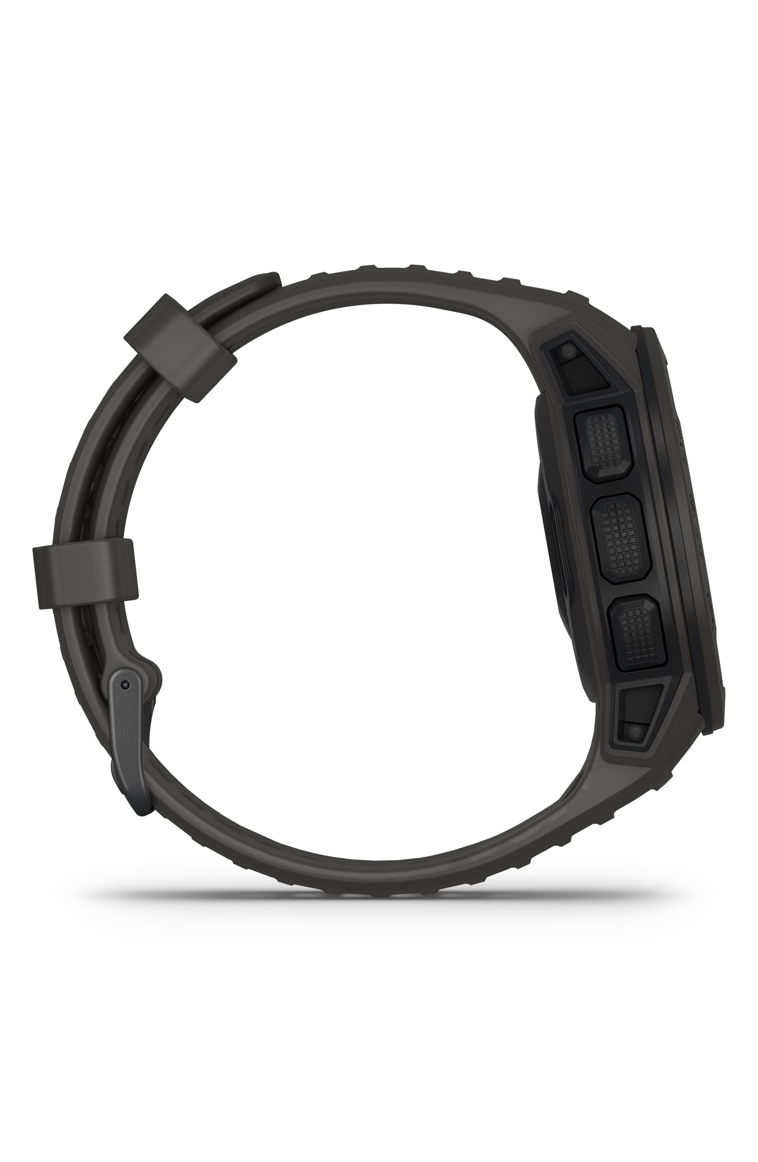 ,                             Instinct<sup>™</sup> Outdoor GPS Watch, 45mm,                             Alternate thumbnail 4, color,                             GRAPHITE