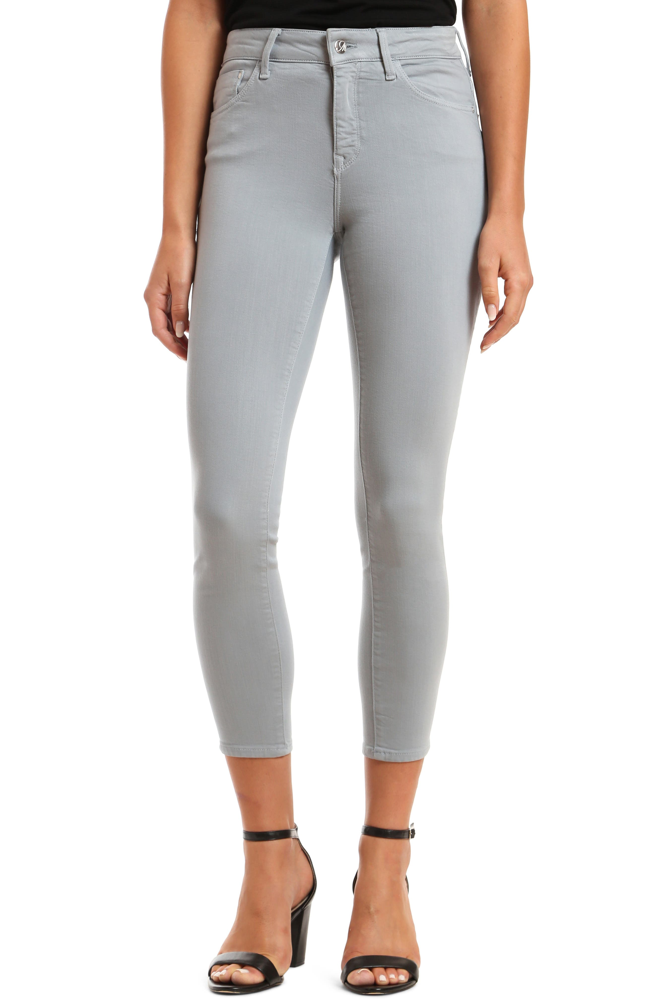 Tess Supersoft High Waist Ankle Skinny Jeans