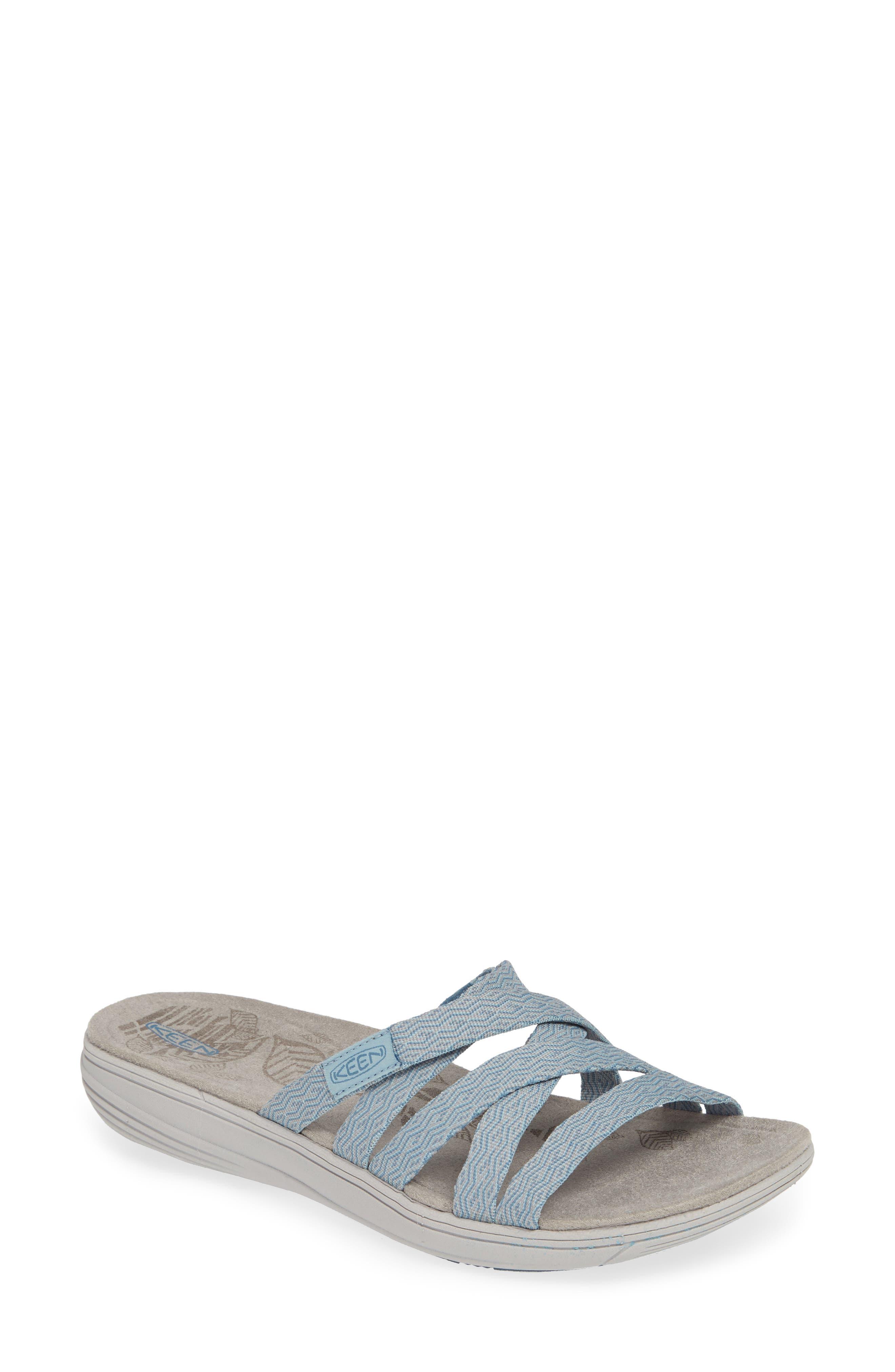 Keen Damaya Slide Sandal, Blue