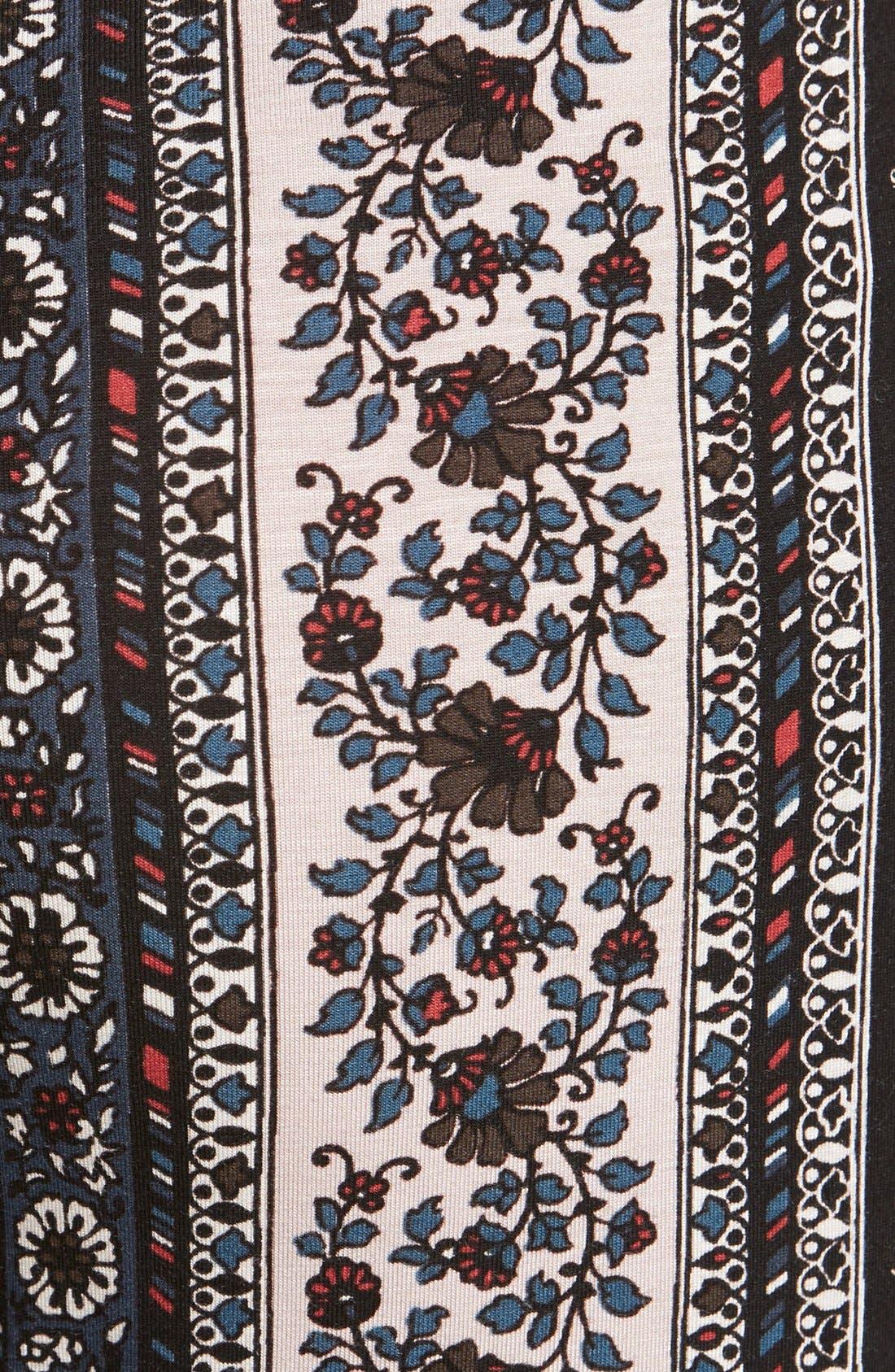 ,                             Mixed Print Flare Leg Pants,                             Alternate thumbnail 27, color,                             010
