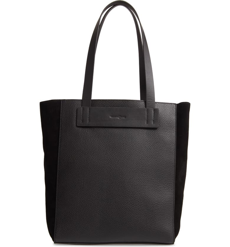 TREASURE & BOND Findley Leather Tote, Main, color, 001