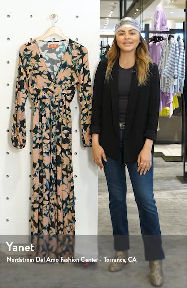 Love Vine Long Sleeve Cover-Up Dress, sales video thumbnail