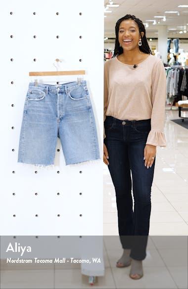 '90s Longline Denim Shorts, sales video thumbnail