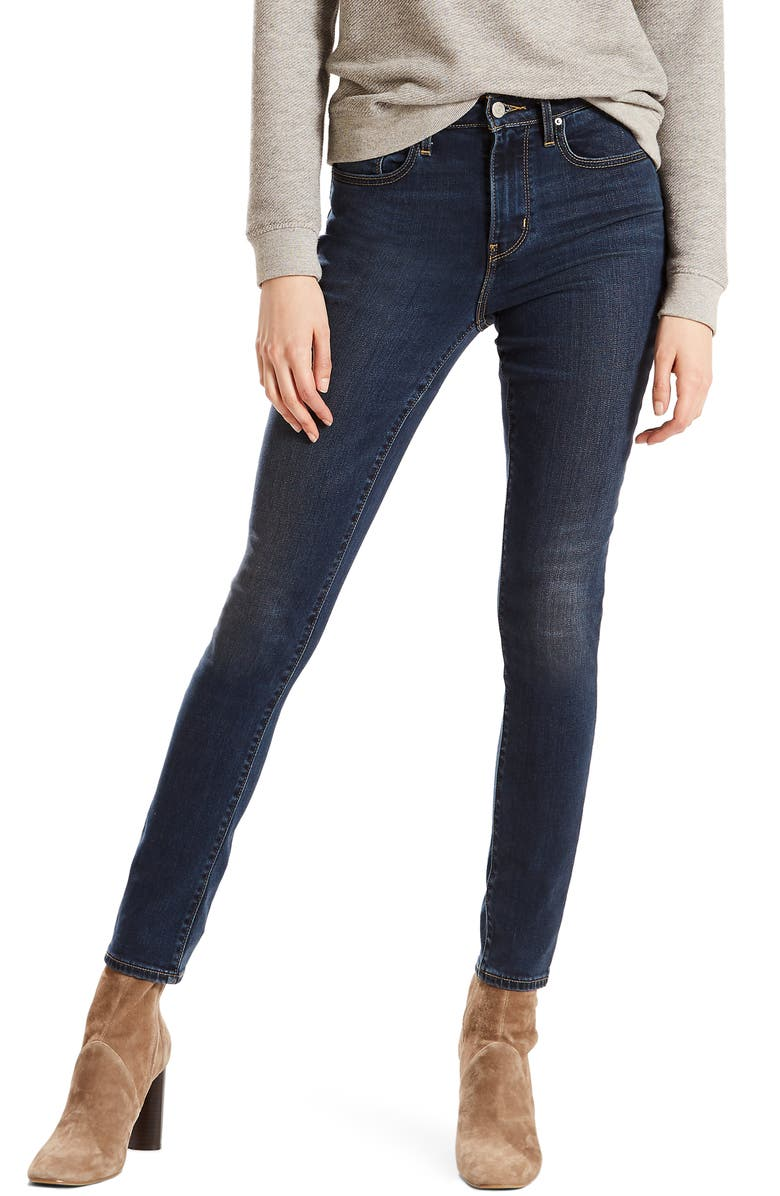 LEVI'S<SUP>®</SUP> 721<sup>™</sup> High Waist Skinny Jeans, Main, color, 401