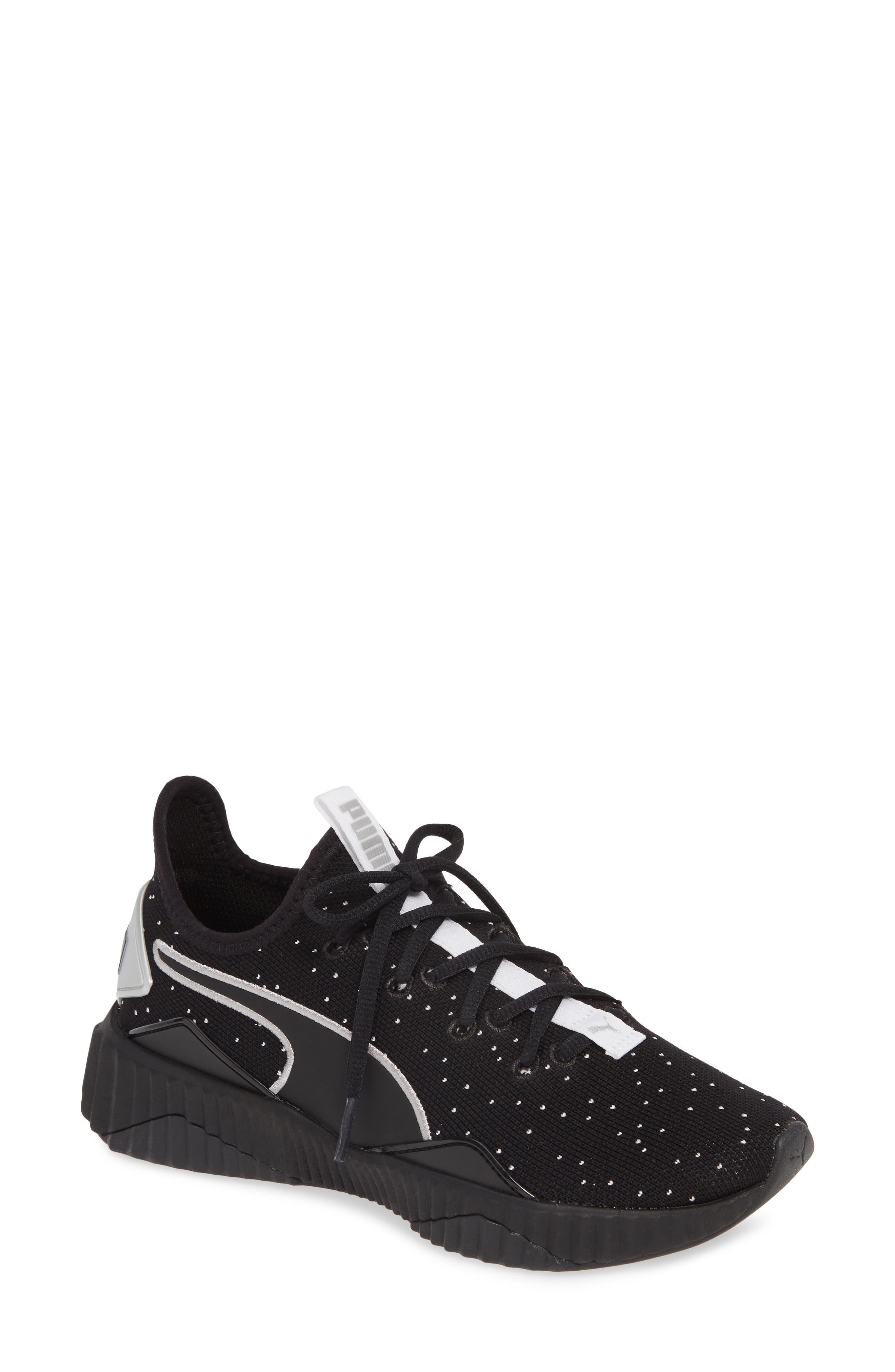 Puma Defy Speckle Training Shoe, Black
