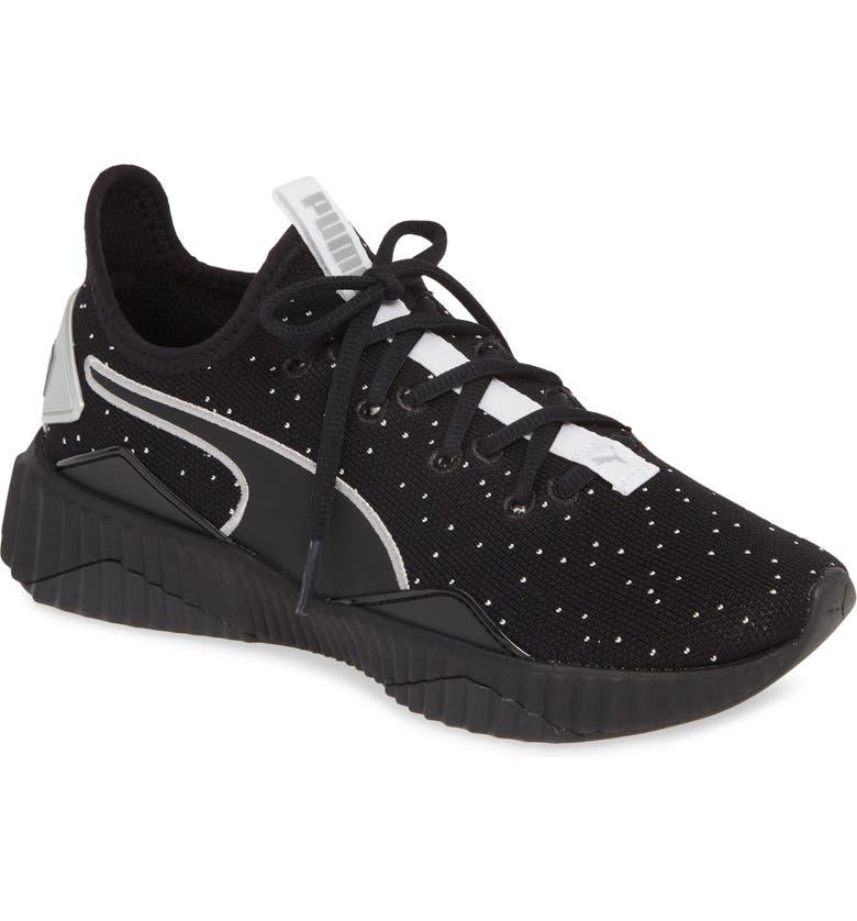 PUMA Defy Speckle Training Shoe, Main, color, 001