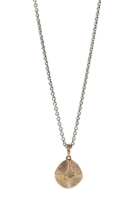 Image of John Varvatos Collection Brass Rivet Pendant