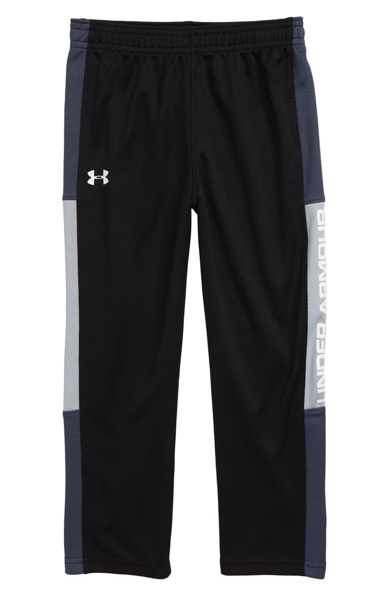 UNDER ARMOUR Hero Pants, Main, color, BLACK