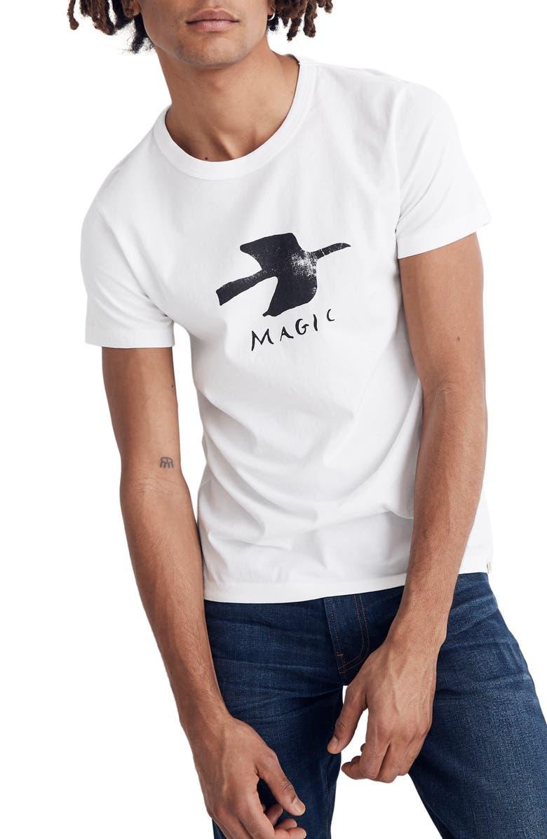MADEWELL Magic Graphic Allday Crewneck T-Shirt, Main, color, 102