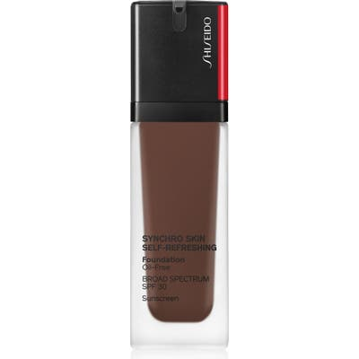 Shiseido Synchro Skin Self-Refreshing Liquid Foundation - 560 Obsidian