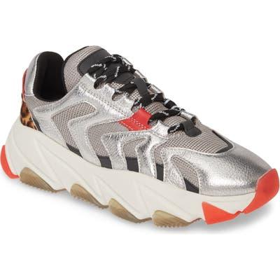 Ash Extreme Platform Sneaker, Metallic