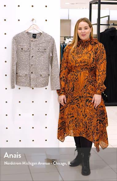 The Ritz Metallic Thread Cotton Blend Jacket, sales video thumbnail