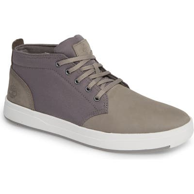 Timberland Davis Square Mid Top Sneaker- Grey