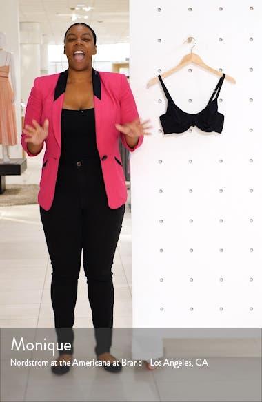 Lace Impression Seamless Underwire Bra, sales video thumbnail