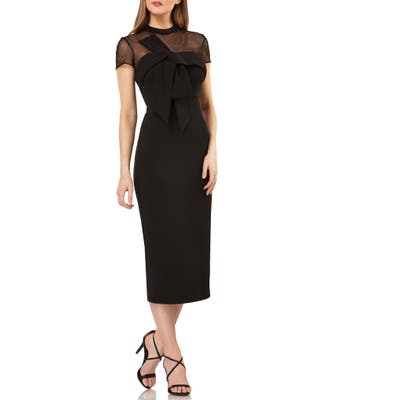 Js Collections Stretch Crepe Dress