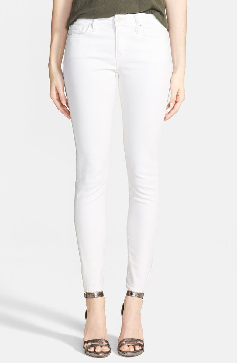 JOE'S 'Spotless' Mid Rise Ankle Skinny Jeans, Main, color, 100