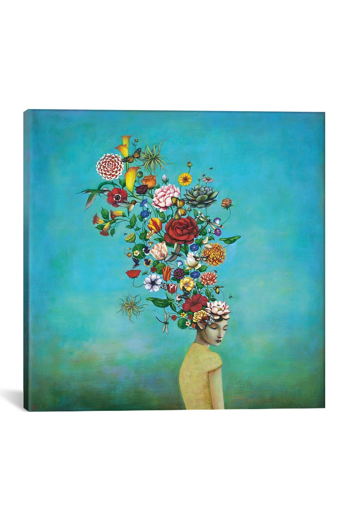 Image of iCanvas A Mindful Garden by Duy Huynh Wall Art