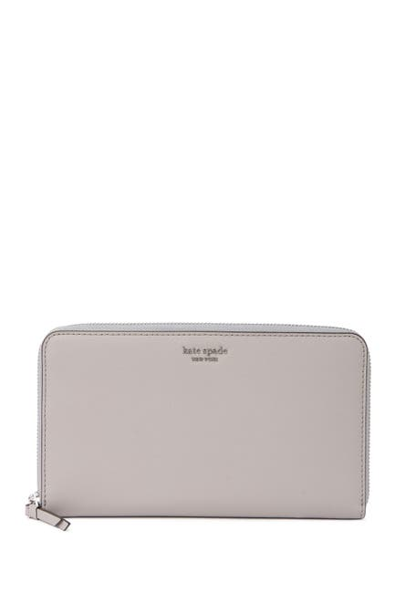 Image of kate spade new york zip around continental wallet
