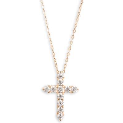 Nadri Cross Pendant Necklace