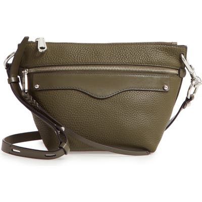 Rebecca Minkoff Hayden Leather Crossbody Bag - Green