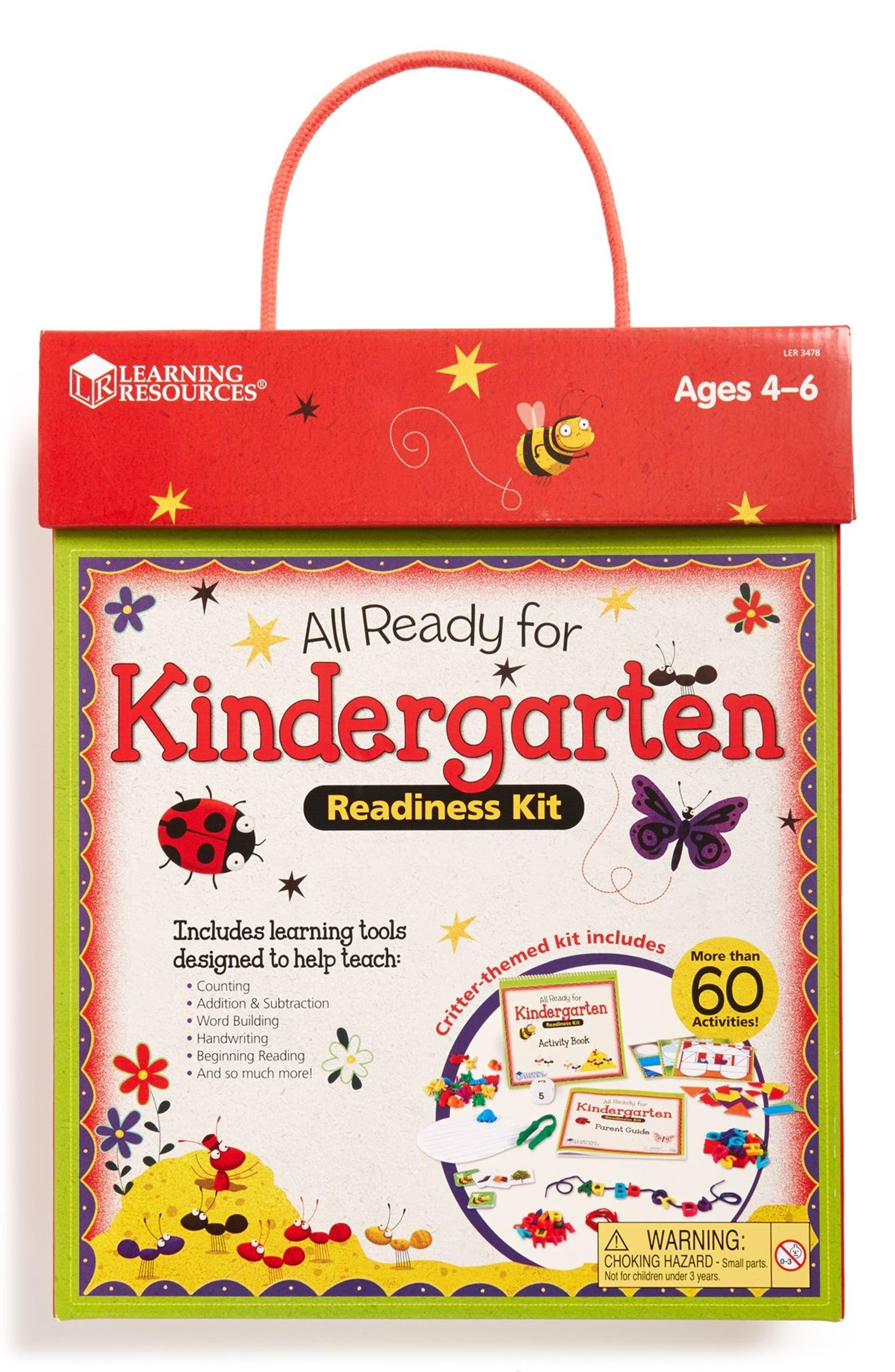 Many Kids Not Ready For Kindergarten >> Educational Insights All Ready For Kindergarten Readiness Kit
