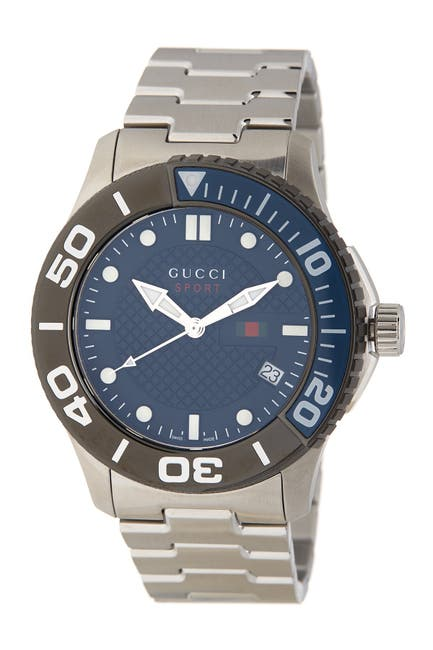 Image of GUCCI Men's 126 XL Bracelet Watch, 45mm