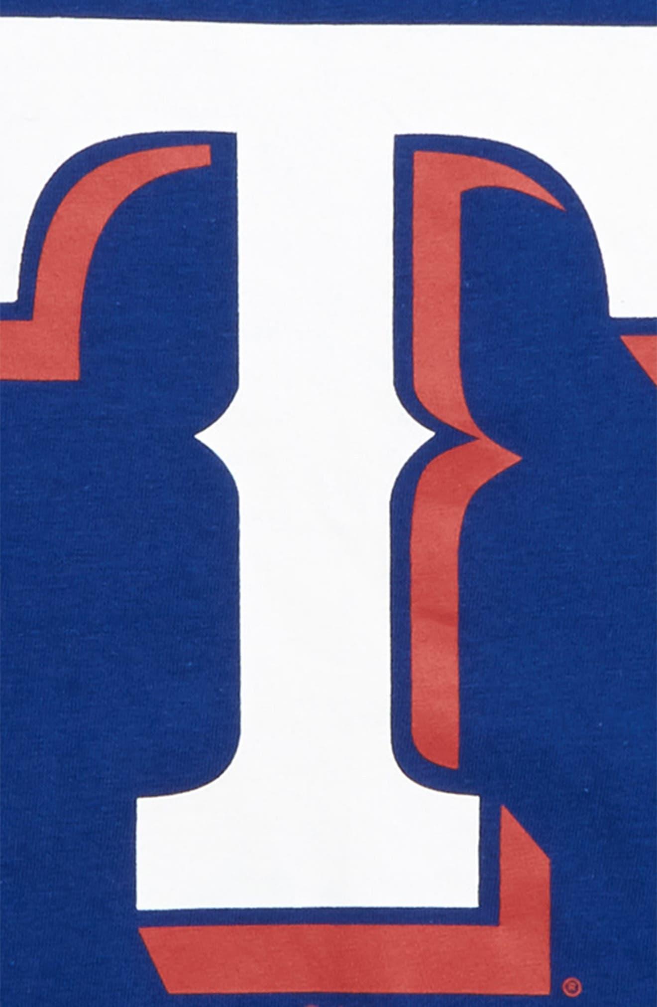 ,                             Super Rival Texas Rangers T-Shirt,                             Alternate thumbnail 2, color,                             ROYAL