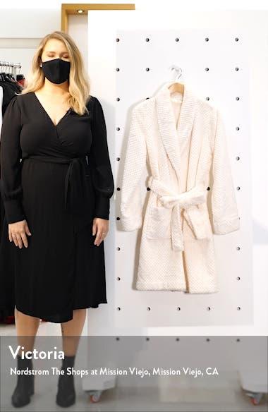 Textured Short Robe, sales video thumbnail