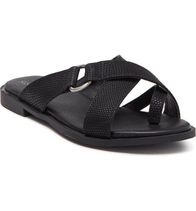 SUSINA Carol Toe Loop Sandal, Main, color, 001