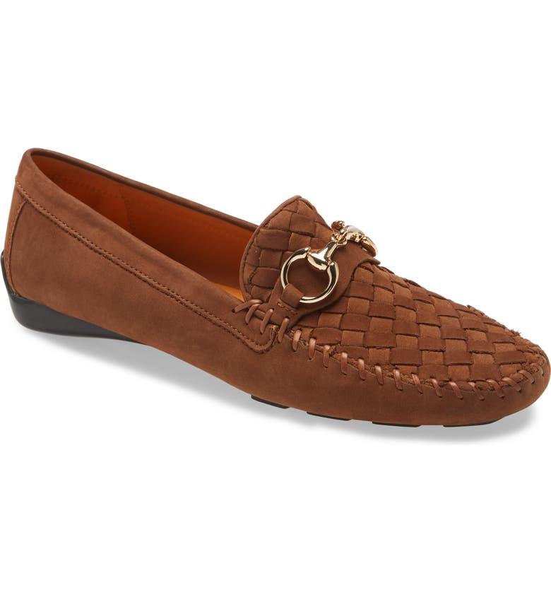 ROBERT ZUR 'Perlata' Loafer, Main, color, SIGARO SUEDE