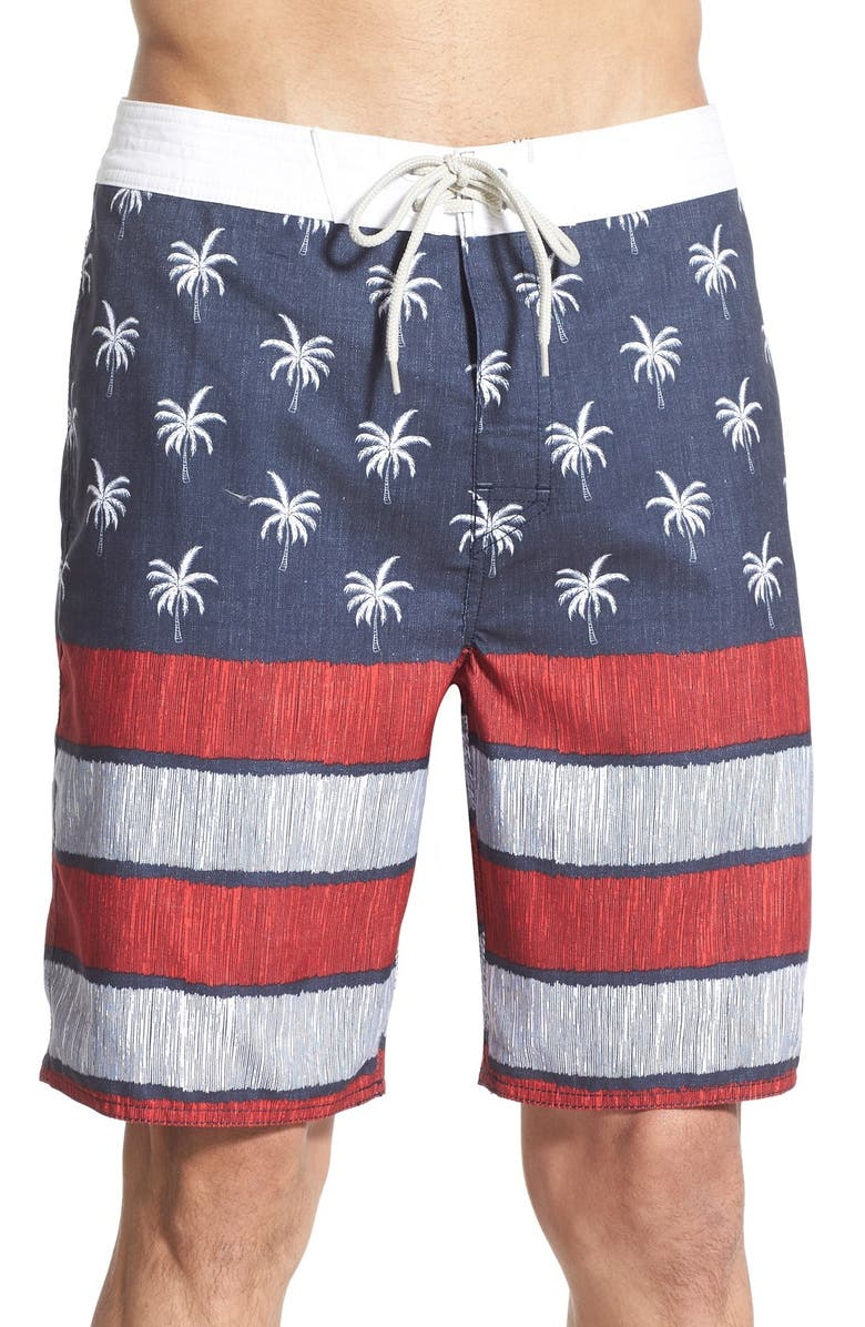RIP CURL 'Independence' Board Shorts, Main, color, 410