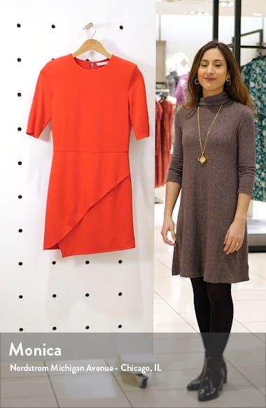 Nova Asymmetrical Minidress, sales video thumbnail