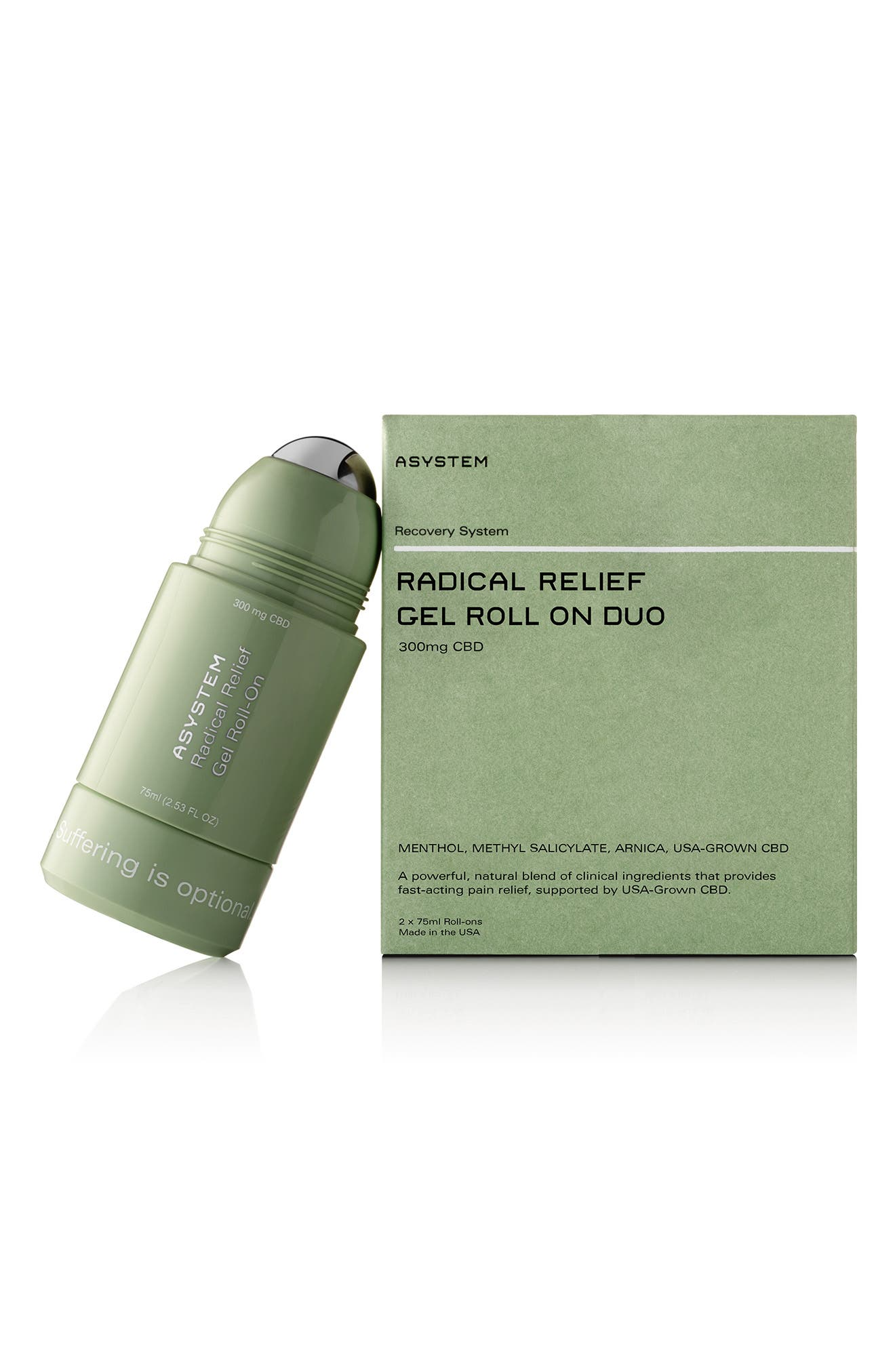 Full Size Radical Relief Gel Roll-On With Cbd Duo-$118 Value (Nordstrom Exclusive)