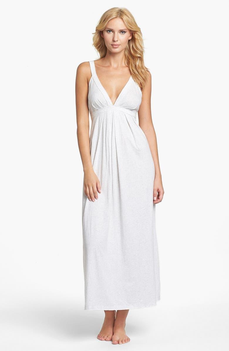 DONNA KARAN NEW YORK Donna Karan Pima Cotton Nightgown, Main, color, 064