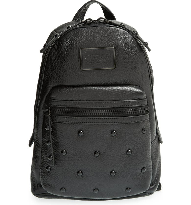 Marc By Marc Jacobs Domo Biker Studded Leather